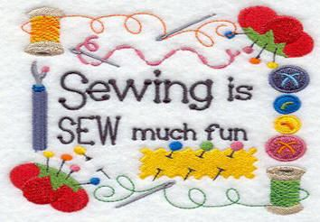 Sewing is SEW much fun